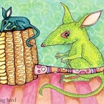 12 - Bilbies and Corn Cob Pipe Ink2