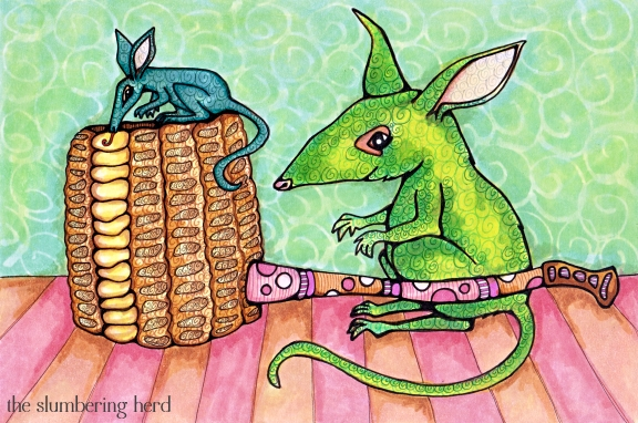 14 - Bilbies and Corn Cob Pipe Finalizing