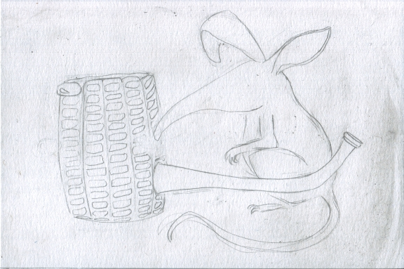 2 - Bilbies and Corn Cob Pipe Sketch2