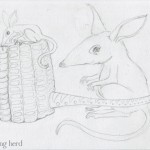 5 - Bilbies and Corn Cob Pipe Sketch5