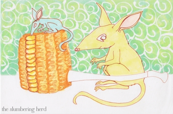 8 - Bilbies and Corn Cob Pipe Color1