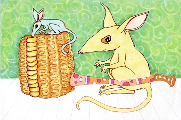9 - Bilbies and Corn Cob Pipe Color2