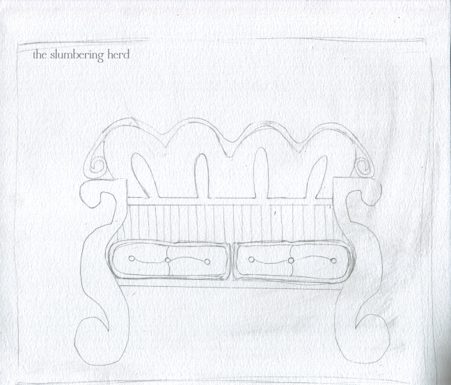 01 Couch in the House in the Forest Sketch1