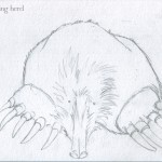 1 - Mole Named Dee Sketch1