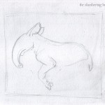 1 - Running Tapir with Puffin Sketch1