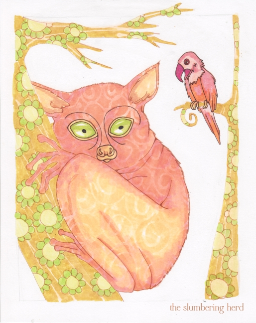 10 - A Shy Tarsier Named Nee, Color4