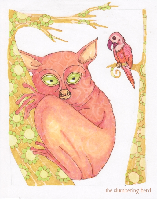11 - A Shy Tarsier Named Nee, Color5