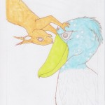 5 - Shoebill and Squirrel Color1