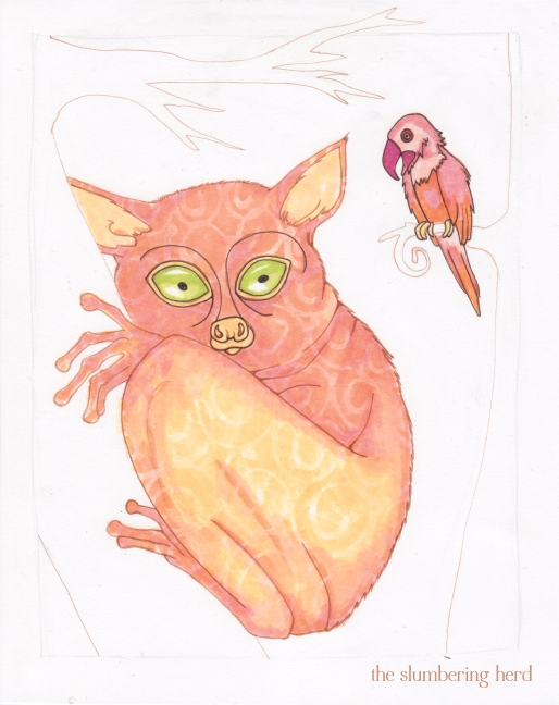 9 - A Shy Tarsier Named Nee, Color3