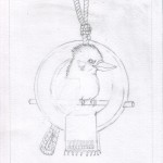 04 Kookaburra Holds Court Sketch4