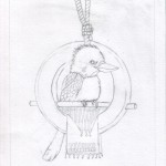 05 Kookaburra Holds Court Sketch5