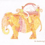 09 Steampunk Elephant with Cat Color2