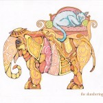 12 Steampunk Elephant with Cat Ink4
