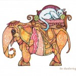 14 Steampunk Elephant with Cat Ink6