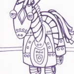 01 Robot Pony Ink1