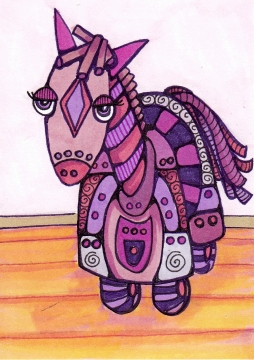 03 Robot Pony Ink2