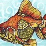 06 Maureen, a Goldfish ATC