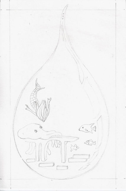 02 Drop of Water sketch2