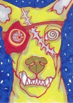 02 Zombie Gearhead Dog Color1