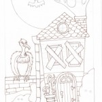 03 Haunty House Ink1