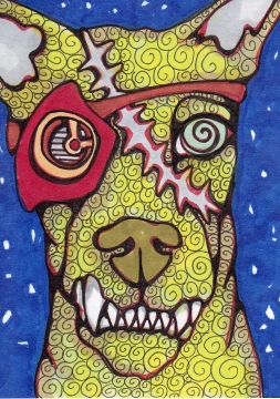 05 Zombie Gearhead Dog Color3