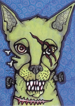 07 Zombie Cat Color4