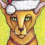 Nikolas the Christmas Cat