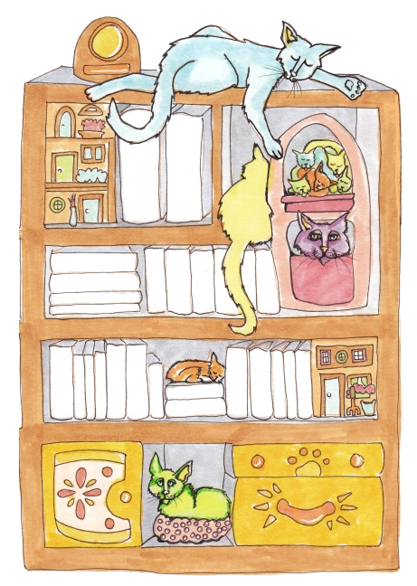 10 Books and Cats Cropped