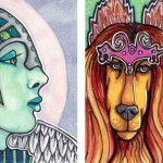 Floria the Fey Queen and The Dogfaerie Queen
