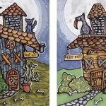 Two Almost Spooky Houses