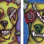 Zombie Dog and Zombie Gearhead Dog
