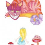 04 Alice and Cheshire Cat Color2