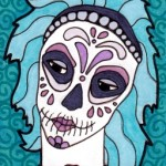 04 Teal Lavender Sugar Skull Girl Color2