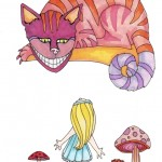05 Alice and Cheshire Cat Ink2