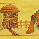 06 Shy Goat House ink2