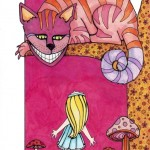 12 Alice and Cheshire Cat Ink4