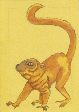 04 Brown Lemur 5x7 color2