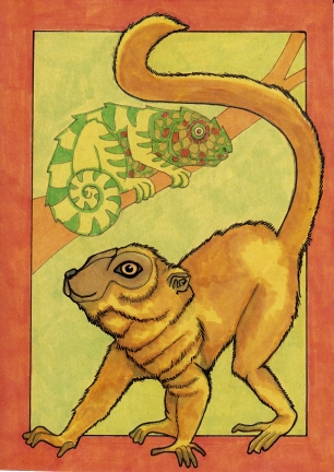 08 Brown Lemur 5x7 color4