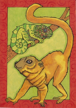09 Brown Lemur 5x7 color5