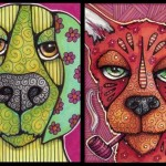 Astro Dog and Pierce with Pipe