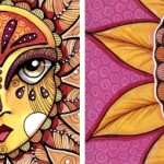 Leona of the Sun and a Sunflower Princess