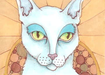 01 Patron Cat of Saints color1