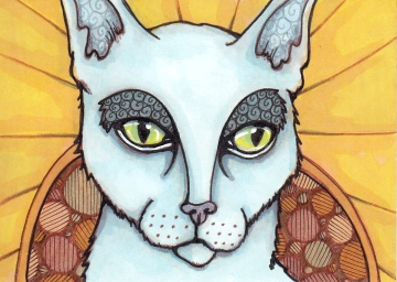 02 Patron Cat of Saints color2