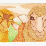 09 Two Sheep ink2