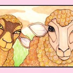 Two Woolly Sheep