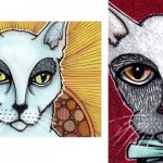 The Patron Cat of Saints, and Ed Cat