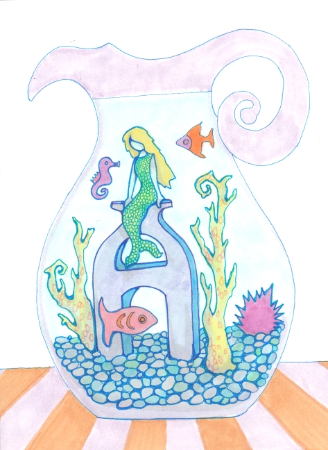 06 Pitcher Mermaid color1