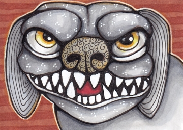 04 Dog Gargoyle color2