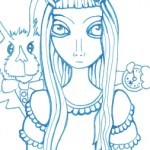 Alice with Rabbit 02