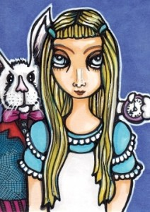Alice with Rabbit ATC